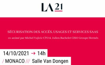 LE GROUPE I-TRACING AUX ASSISES DE LA SÉCURITÉ 2021